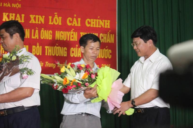 Tòa Phúc thẩm TAND Tối cao chính thức xin lỗi công khai ông Chấn - ảnh 5