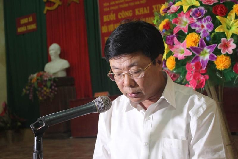 Tòa Phúc thẩm TAND Tối cao chính thức xin lỗi công khai ông Chấn - ảnh 3