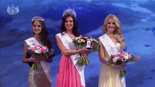 Cận cảnh nhan sắc tân hoa hậu Nga vừa đăng quang - ảnh 1