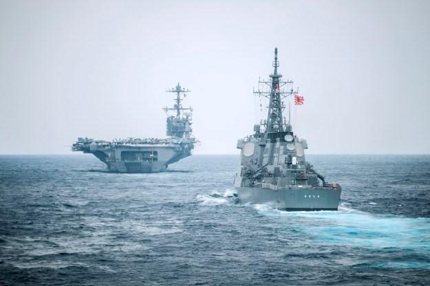 Mỹ và Nhật Bản có thể tiến hành tuần tiễu chung ở Biển Đông - ảnh 1