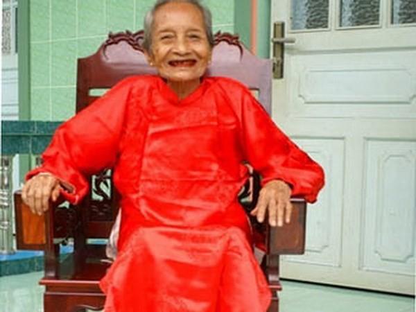 Cụ bà Việt Nam chính thức trở thành cụ bà cao tuổi nhất thế giới - ảnh 1