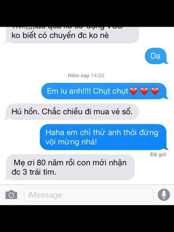 Khi các bà vợ nhắn tin 'Em yêu anh' và cái kết 'phũ phàng' 12