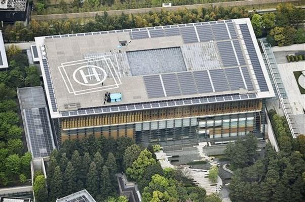 Vật thể bay trên nóc dinh Thủ tướng Nhật xuất xứ từ Trung Quốc - ảnh 1