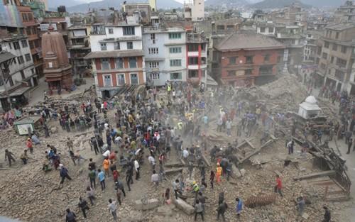 Tình hình du khách Việt ở Nepal khi xảy ra động đất - ảnh 1
