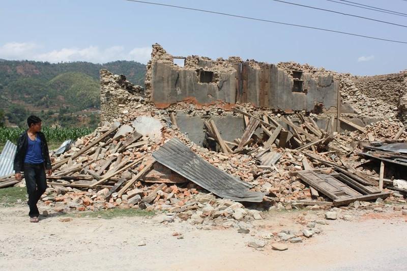 Nepal nhọc nhằn gượng dậy từ đổ nát - ảnh 1