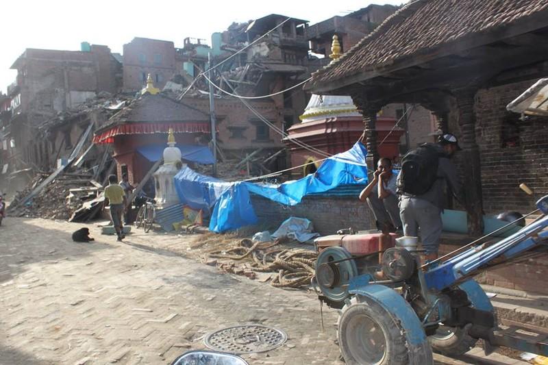 Nepal nhọc nhằn gượng dậy từ đổ nát - ảnh 2