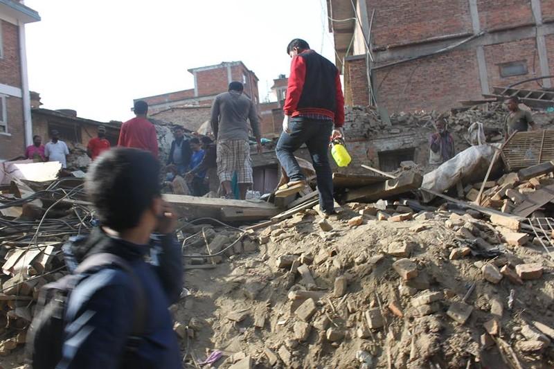Nepal nhọc nhằn gượng dậy từ đổ nát - ảnh 3