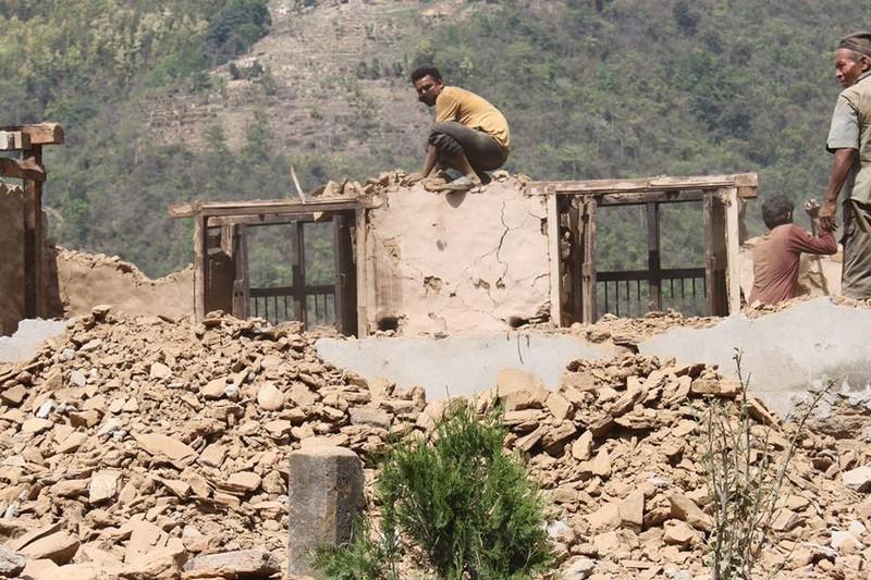 Nepal nhọc nhằn gượng dậy từ đổ nát - ảnh 4