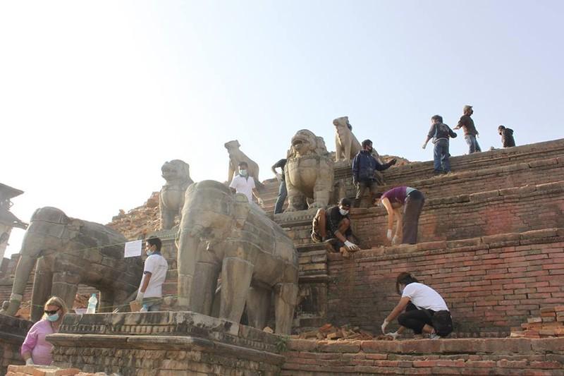 Nepal nhọc nhằn gượng dậy từ đổ nát - ảnh 5