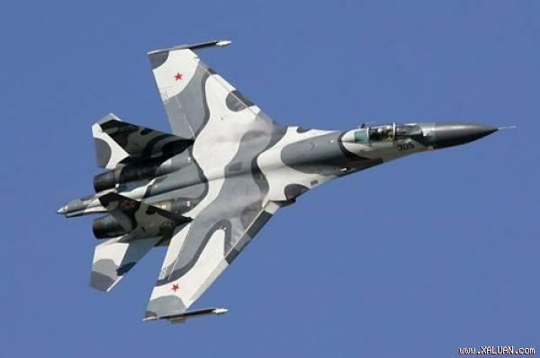 Một biến thể tiêm kích Su-27 của Không quân Nga.
