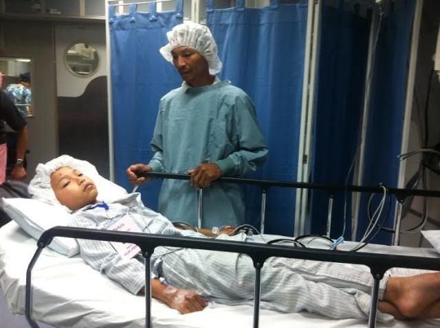 Bệnh viện bay Orbis đến Huế phẫu thuật cho bệnh nhân nghèo - ảnh 6