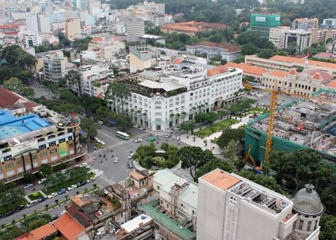 Tại Hà Nội và TPHCM, giá đất có mức cao nhất là 162 triệu đồng/m2, tăng gấp