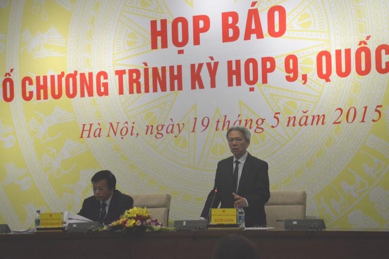 Kỳ họp QH thứ 9: QH không bàn việc sửa Điều 60 Luật BHXH - ảnh 1