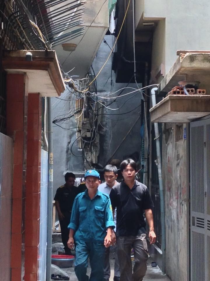 Cháy kinh hoàng ở Hà Nội, 5 người trong gia đình chết thảm khốc - ảnh 1