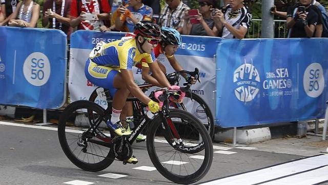 Xe đạp nữ: Kiện và đoạt HCV - ảnh 1