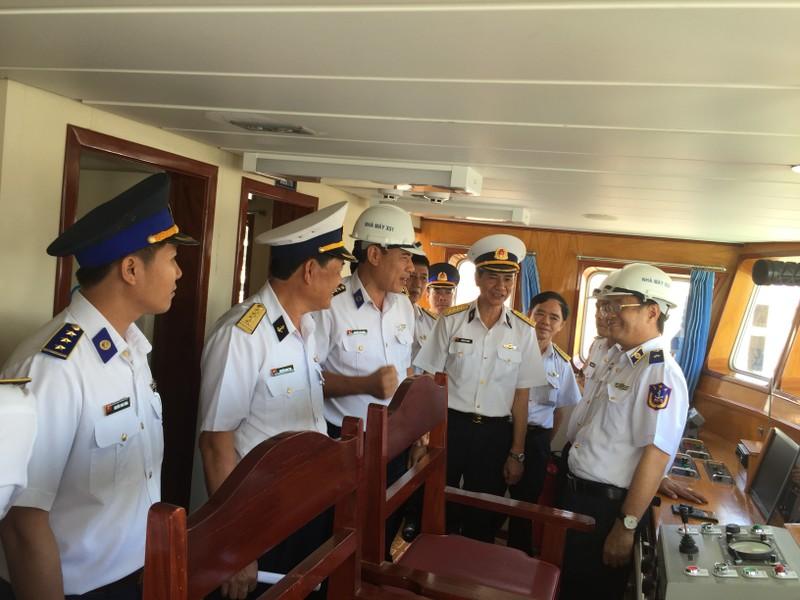 Bàn giao tàu trinh sát hiện đại cho Bộ Tư lệnh Cảnh sát biển - ảnh 4