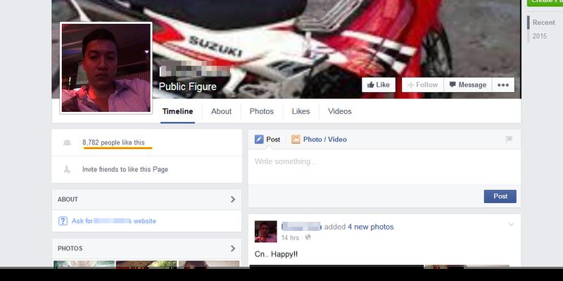 Xuất hiện Facebook giả nghi can Nguyễn Hải Dương để câu like - ảnh 2