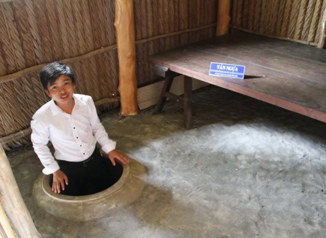 Nơi làm việc của ông Lê Duẩn trong thời gian công tác ở đồng chó ngáp Bạc Liêu - Ảnh: V.TR.