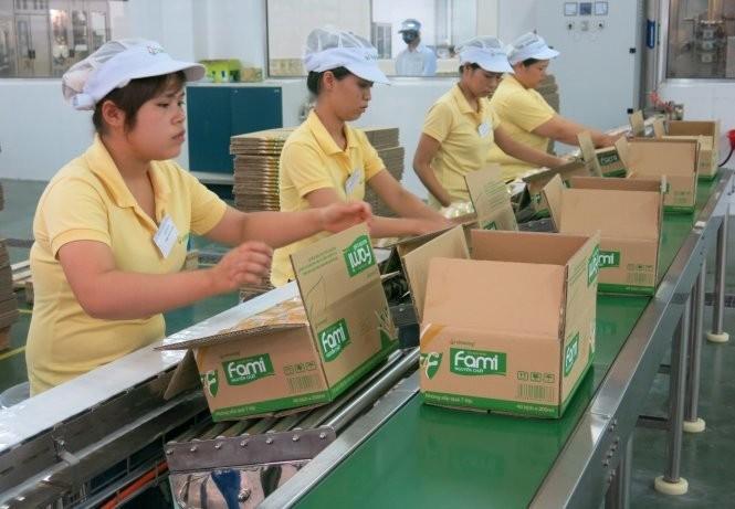 Theo đề xuất của Tổng Liên đoàn lao động Việt Nam, lương tối thiểu sẽ tăng tới 600.000 đồng/ tháng so với năm nay - Ảnh: Lê Thanh