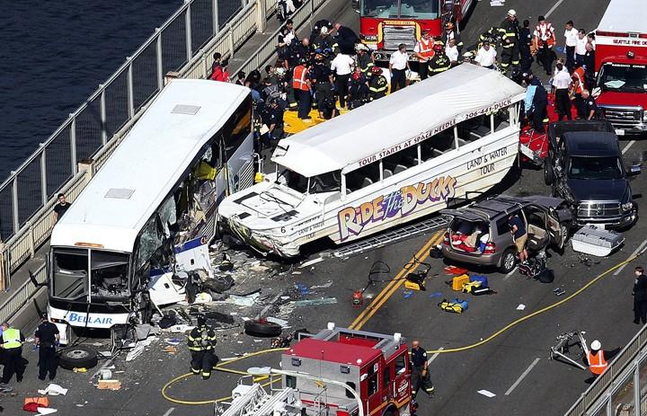3 sinh viên VN trong vụ tai nạn xe buýt Seattle đã xuất viện - ảnh 1