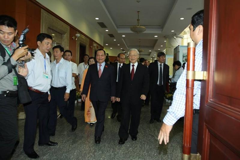 Khai mạc Đại hội Đảng bộ TP.HCM lần thứ X nhiệm kỳ 2015-2020 - ảnh 3