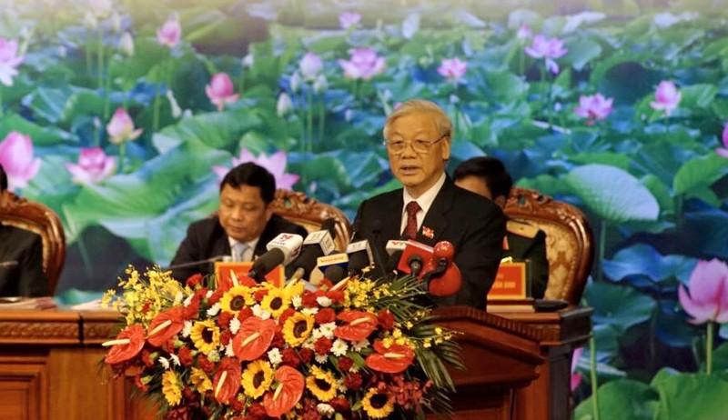 Tổng Bí thư lưu ý 7 vấn đề đối với Đảng bộ Hà Nội - ảnh 1
