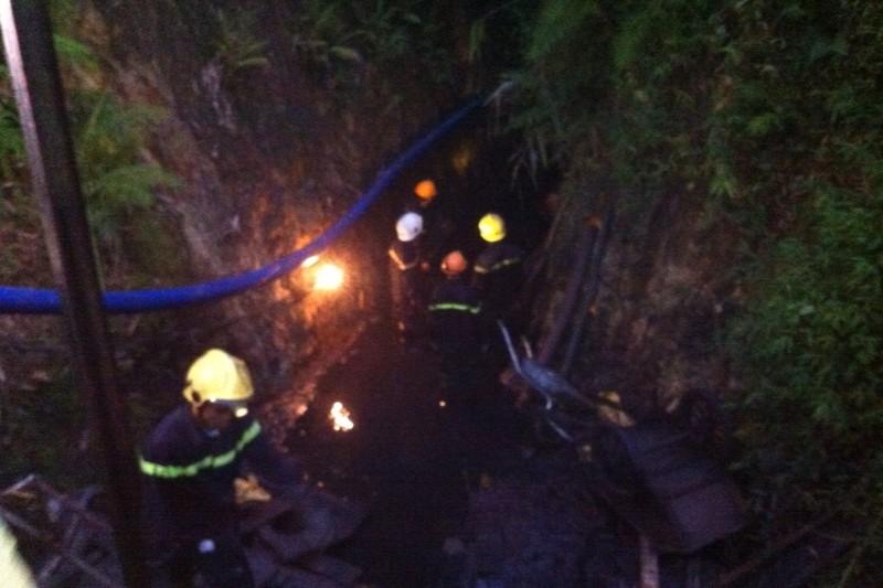 Tìm thấy thi thể nạn nhân cuối cùng trong vụ sập hầm - ảnh 1