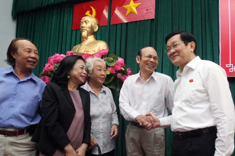 Lời tâm huyết cuối nhiệm kỳ của Chủ tịch nước Trương Tấn Sang - ảnh 1