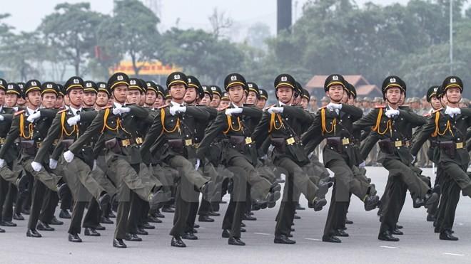 Bộ trưởng Trần Đại Quang phát lệnh xuất quân bảo vệ Đại hội Đảng - ảnh 5