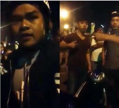 Hai người xưng cảnh sát hình sự trong clip