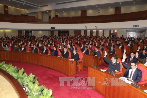 Đại biểu chúc mừng ông Nguyễn Phú Trọng tái đắc cử chức Tổng Bí thư - ảnh 2