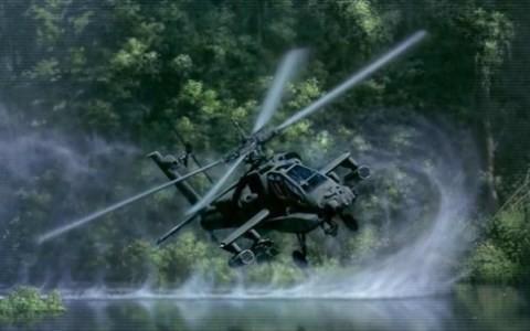 Sát thủ diệt xe tăng Apache. Ảnh Quân đội Mỹ