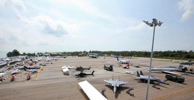 Những chiến đấu cơ nổi bật nhất tại Singapore Airshow - ảnh 1