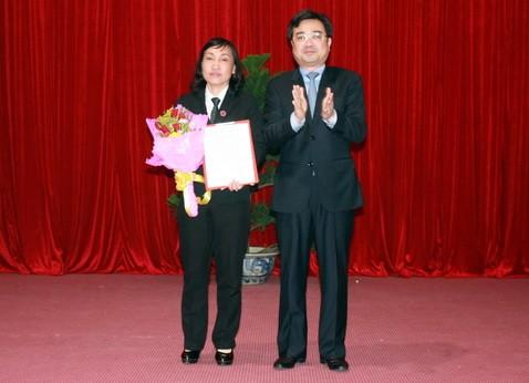 Trao quyết định bổ nhiệm chánh án TAND tỉnh Kiên Giang - ảnh 2