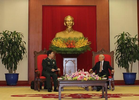 Bộ trưởng Quốc phòng Việt-Trung trao đổi về tranh chấp trên biển Đông - ảnh 2