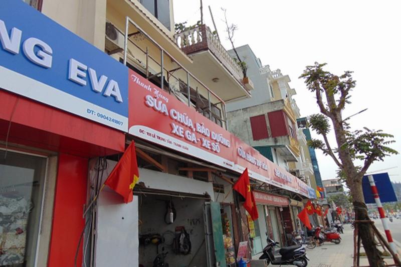 Quận Thanh Xuân nói gì về biển hiệu 'đồng phục xanh đỏ' ở phố kiểu mẫu? - ảnh 3