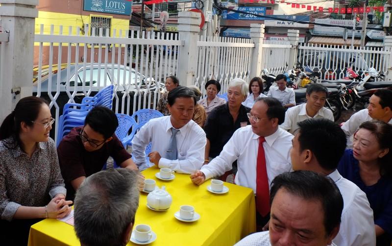 Phó Bí thư Thường trực Thành ủy TP.HCM Tất Thành Cang bầu cử - ảnh 1
