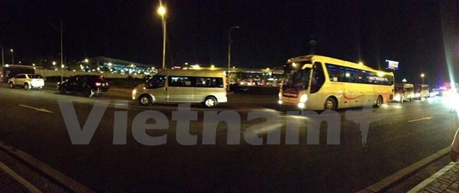 Chuyên cơ chở Tổng thống Obama đã đáp xuống sân bay Nội Bài - ảnh 17
