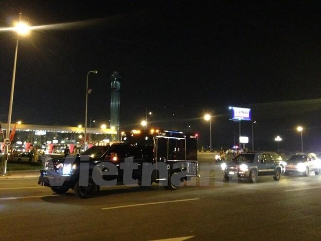 Chuyên cơ chở Tổng thống Obama đã đáp xuống sân bay Nội Bài - ảnh 20