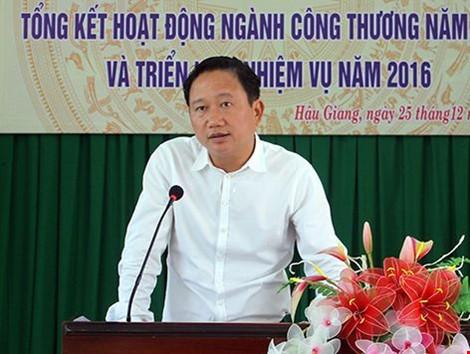 Chiều nay sẽ xem xét đơn xin không tái cử của ông Trịnh Xuân Thanh - ảnh 1
