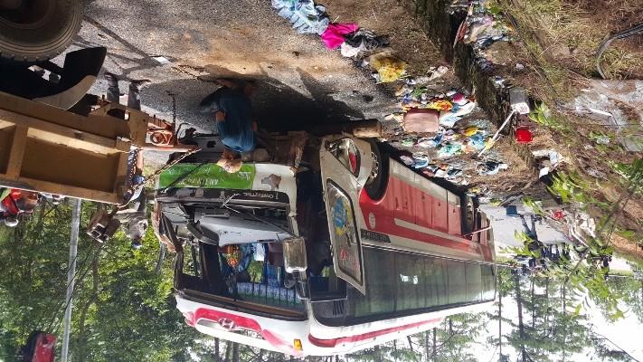 Kinh hoàng: 2 xe khách tông nhau trên đèo Prenn, 7 người chết - ảnh 1