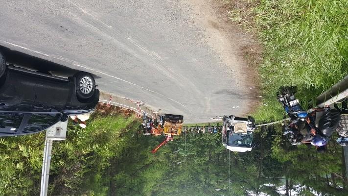 Kinh hoàng: 2 xe khách tông nhau trên đèo Prenn, 7 người chết - ảnh 4