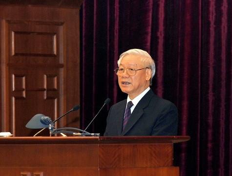 Bế mạc Hội nghị lần 3 BCH Trung ương Đảng khóa XII - ảnh 1