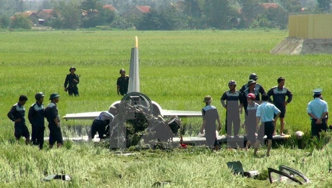 Bộ Quốc phòng thông tin chính thức vụ rơi máy bay tại Phú Yên - ảnh 1