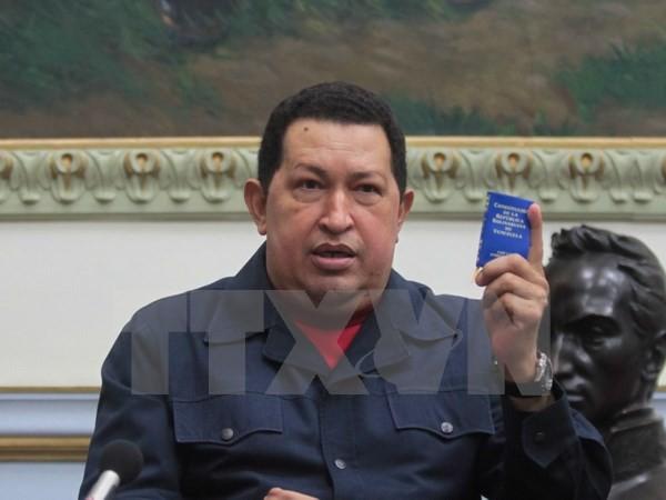 Venezuela khánh thành tượng đài cố Tổng thống Hugo Chavez - ảnh 1