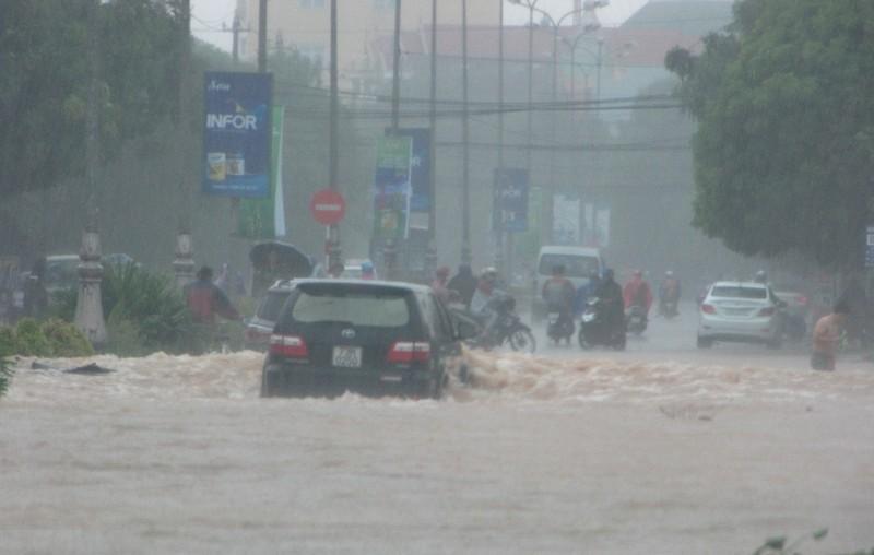 Quảng Bình: Lượng mưa ở Đồng Hới lên đến 770 mm - ảnh 1