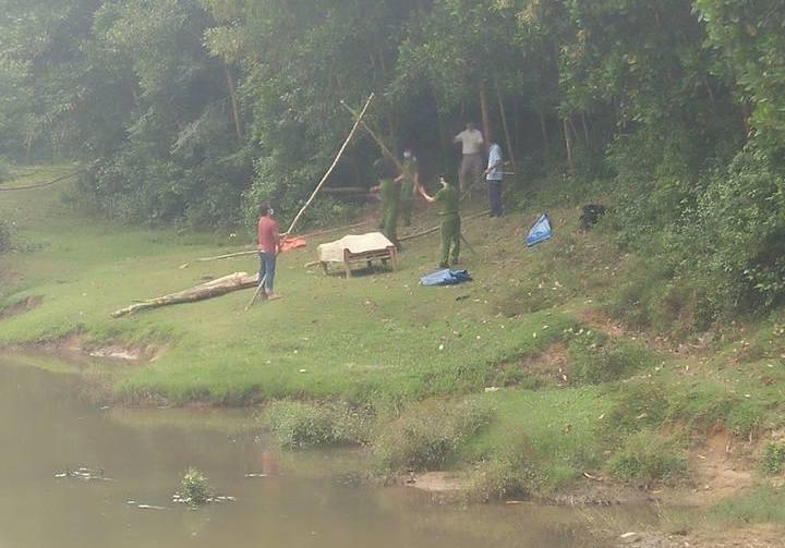 Phát hiện thi thể nam thanh niên trên sông Ly Ly - ảnh 2