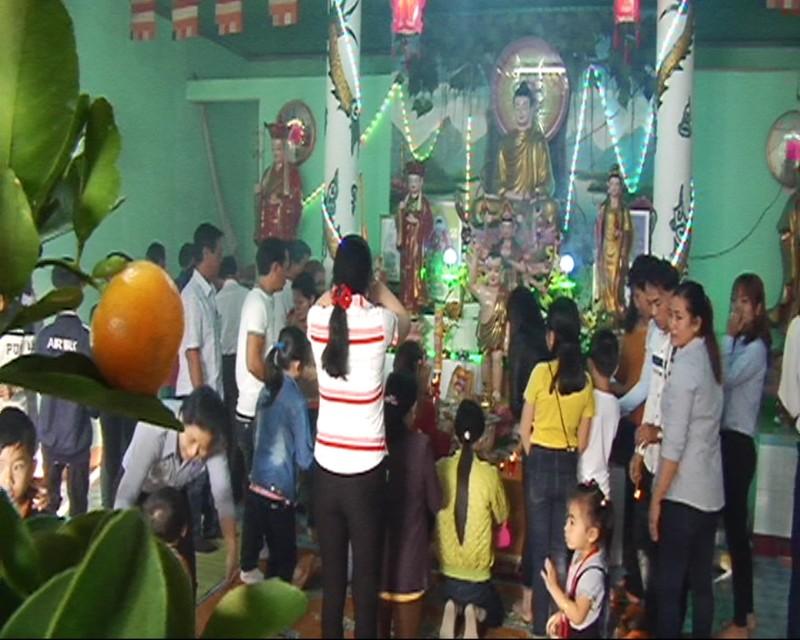 Quảng Ngãi: Ngư dân hái lộc cầu an ngày mùng 1 tết - ảnh 3