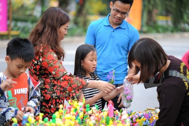 Thích thú với lễ hội hoa xuân lớn nhất miền Bắc - ảnh 11