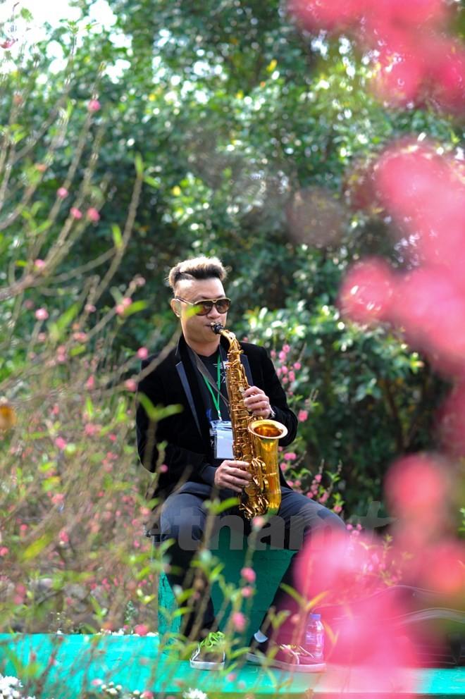 Thích thú với lễ hội hoa xuân lớn nhất miền Bắc - ảnh 9